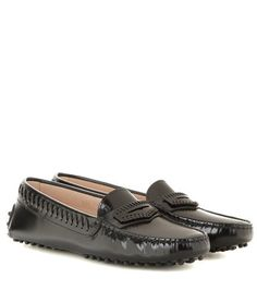 GOMMINI POLISHED LEATHER LOAFERS TOD'S