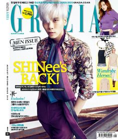 Jong Hyun SHINee - Grazia Magazine August Issue '15