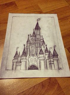 A quick sketch of the Disney Castle <3