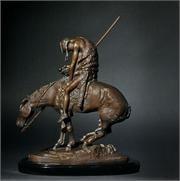 I love this Remington bronze sculpture, it is beautiful!