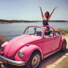 I've always wanted a hot pink vw bug since I was 12 yrs old and still want it!