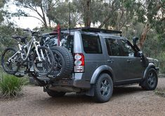 Land Rover Discovery 4 Bicycle Carrier