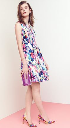 A lovely dress for special summer occasions.