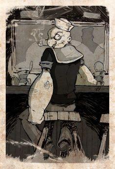 Popeye by Dave Bardin