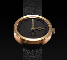 The Time Keepers: Minimalist Watches by AÃRK Collective | Inspiration Grid | Design Inspiration