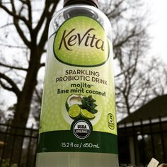 Tried this probiotic drink. Not bad, fizzy version of a mojito. @mrae101