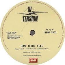 Funk-Disco-Soul-Groove-Rap: Hi Tension - How D'you Feel (Club Mix).