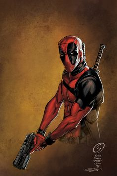 #Deadpool #Fan #Art. (Deadpool) By: Sanjun. (THE * 5 * STÅR * ÅWARD * OF: * AW YEAH, IT'S MAJOR ÅWESOMENESS!!!™) [THANK U 4 PINNING!!!<·><]<©>ÅÅÅ+ 48. 3