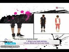 "Kpop Dance Tutorial - f(x) ""Electric Shock"" [Pops in Seoul]"