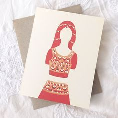 Indian / south Asian will you be my bridesmaid card *new* from Made by Badal