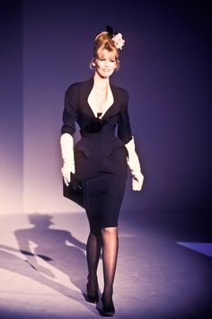Image result for 90S THIERRY MUGLER broad shoulder