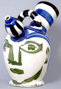 Pablo Picasso, Pichet à glace (Ice Pitcher), 1952, a picasso ceramic at Masterworks Fine Art Gallery.