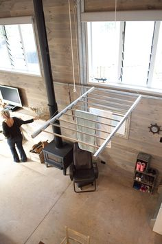 Clothes drying rack - large