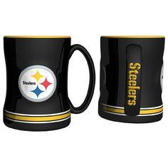 7c8fa63dea3 Pittsburgh Steelers NFL Coffee Mug – 15oz Sculpted 1 Ceramic Mugs