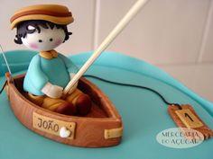 Little Fisherman Cake detail - Pormenor Pequeno Pescador