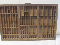 shopgoodwill.com: Vintage Rubber Stamp Storage/Display Unit