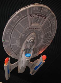 Starfleet ships:  LUNA class multipurpose Heavy Cruiser / Extended Mission Deep-Space Explorer.