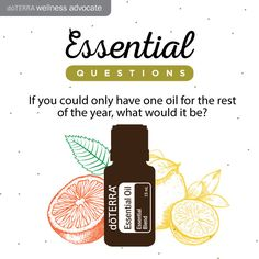 doTerra Social Media - One Oil For The Rest Of The Year **TONS of social media resources!!