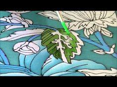 Silk painting 2 - YouTube