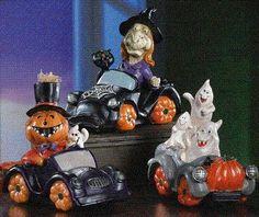 Halloween Decoration Spooky Creature Statues Trio