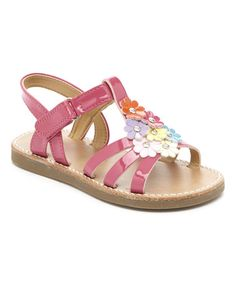 Sweet pastel flowers bloom across the top of this sandal for a garden-fresh look. An adjustable strap keeps little feet comfortable. My Little Girl, To My Daughter, Espadrilles, Pastel Flowers, Sandals, Shoes, Baby, Fashion, Kids Service Projects