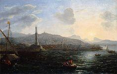 Title: The Port of Genoa, c. 1627/29 Artist: Claude Lorrain Medium: Canvas Print