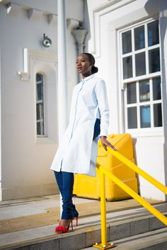 Taking the tunic from day to night is just perfect for the woman who wants to make a statement in the day time as well as the night time. Simple Elegance, Elegant, Style Diary, Stylists, Take That, Tunic, Touch, Shirt Dress, Coat
