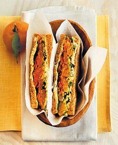 Gemüse-Sandwich - Gesundes und leckeres Pausenbrot - [LIVING AT HOME]