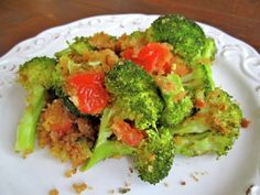 LOVE broccoli and LOVE red crushed pepper. I need to try this!