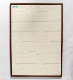 2015 Sunday first - Large Wall Calendar