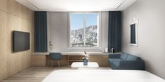 Lakeside Hotel, Fashion Room, Villa, Mirror, Furniture, Design, Home Decor, Decoration Home, Room Decor