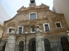 iglesia de Nuestra Señora del Carmen, Cartagena. Finalizada a finales del siglo XVII