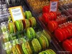 Larher's macarons at the Salon du Chocolat