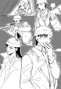 「名探偵コナンらくがき[ネタバレ注意]」/「花✿」の漫画 [pixiv]