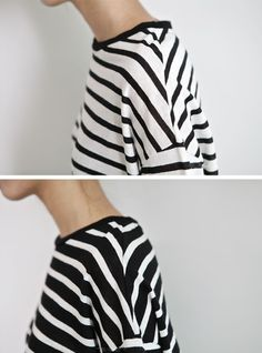 Stripes on stripes on stripes.