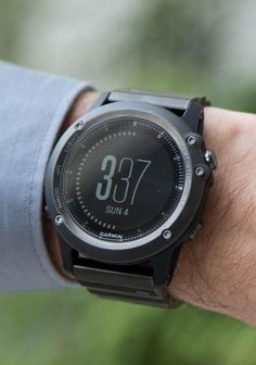 The Garmin Fenix 3.