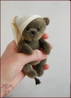 Купить Миниатюрный мишка Тедди. Эвок. - мишка в одежде, мишка тедди, коллекционный мишка