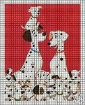 101 Dalmations Clan Crochet Pattern