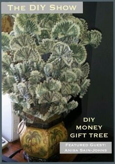 DIY Money Tree for Father's Day