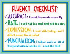 fluency for readers
