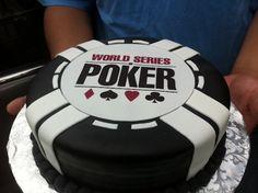poker groom cake wedding