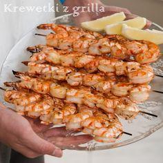 Shrimp, Grilling, Cooking, Recipes, Impreza, Dinners, Gastronomia, Diet, Kitchen