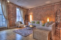 St. Lawrence Market Lofts – Unit #308 | Toronto LOFTS | Character galore in this large, open concept 1230 sf 1 bedroom + den authentic loft with original exposed brick walls, high ceilings & hardwood floors – right beside the St. Lawrence Market! Steps to Yonge subway & Financial District. | torontolofts.ca | info@torontolofts.ca Toronto Lofts, Centre Island, Hardwood Floors, Flooring, Exposed Brick Walls, St Lawrence, High Ceilings, Open Concept, Den