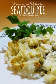 Seafood Pie -  Slimming World friendly!