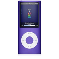 Amazon.com Apple iPod nano 8 GB Purple (4th Generation) OLD MODEL ❤ liked on Polyvore featuring electronics, filler and technology