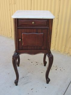French Antique Night Stand Bed Side Table Antique Furniture Nightstand