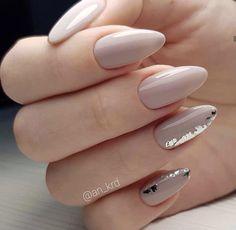 Manicure Nail Designs, Classy Nail Designs, Nail Manicure, Toe Nails, Nail Art Designs, Classy Acrylic Nails, Best Acrylic Nails, Bride Nails, Dream Nails