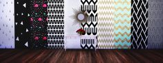 20 wallpapers with various styles Functional with all three wall height You can find in the paint category for 1 Please dont claim as your own or reupload If you want t. The Sims 4 Pc, Sims 4 Mm Cc, Chalkboard Wallpaper, Sims 4 Cc Furniture Living Rooms, Deco Gamer, Sims 4 Toddler, Sims Baby, Sims 4 Clutter, Best Sims