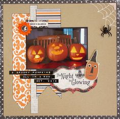 The Night of Glowing - Jack o' Lantern Layout