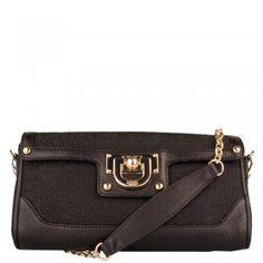 DKNY Black R1211702 Women's Shoulder Bag